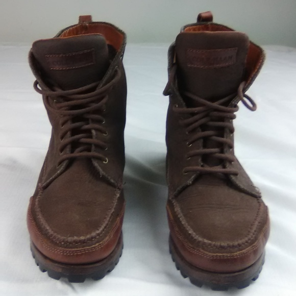 Cole Haan Country Brown Leather Ankle